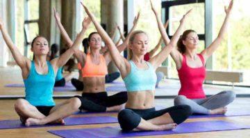 Вид фитнеса Йога