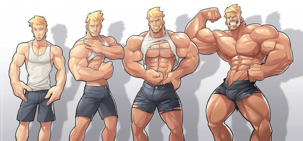 Есть две теории роста мышечной массы
