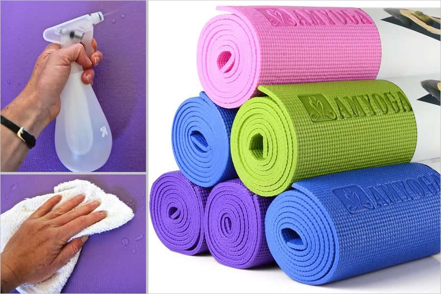Советы по уходу коврика для йоги