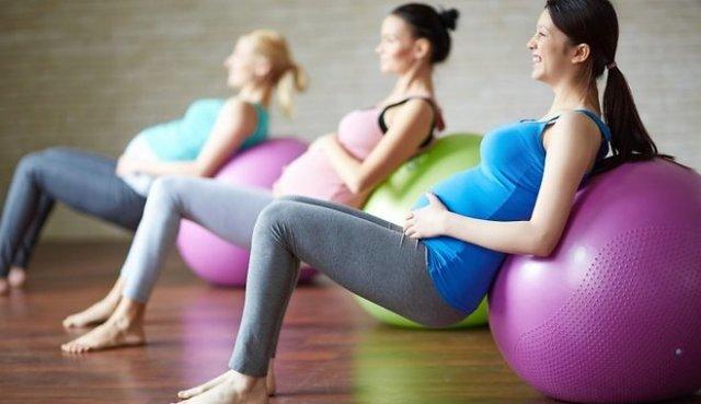 беременные тренировки